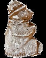 «Медведь» двухслойный пряник с джемом на меде между слоями. Рельефное изображение животного с обеих сторон, 260г.