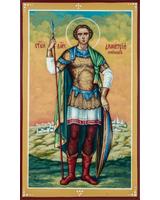 Дмитрий Солунский святой великомученик (ростовая) [ИСПУ]