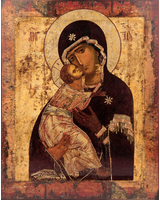 Владимирская икона Божией Матери [ИКП-2228]