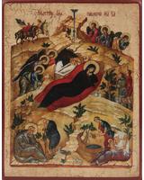 Рождество Христово (список с А.Рублева) [ИПП-911]