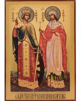 Екатерина и Варвара (образ из Сретенского монастыря) [ИПП-1217]