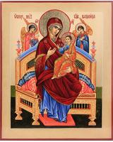 Всецарица образ Пресвятой Богородицы [ИПП-1721]