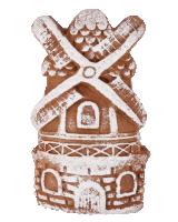 «Мельница» имбирный пряник без начинки, 90г.