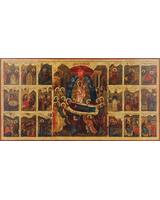 Успение в житии образ Пресвятой Богородицы (из Успенского собора)