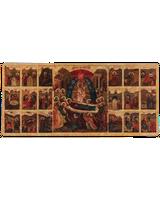 Успение в житии образ Пресвятой Богородицы (из Успенского собора) [ФИП-818]