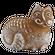 «Кот» двухслойный пряник с джемом на меде между слоями. Рельефное изображение с обеих сторон, 300г.