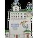Звонница Псково-Печорского монастыря панно
