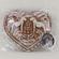 Сердечко имбирный пряник с начинкой (повидло), 200г.