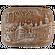 «Успенская площадь» имбирный пряничный пирог с начинкой (повидло), 800г.
