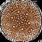 «Цветочный» имбирный пряничный пирог с начинкой (повидло), 500г.