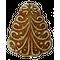 «Ёлочка» имбирный пряник без начинки, 200г.