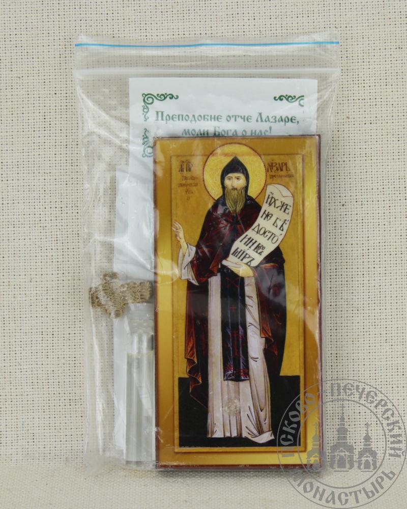 Лазарь преподобный Псково-Печерский. Набор со Святым маслом.