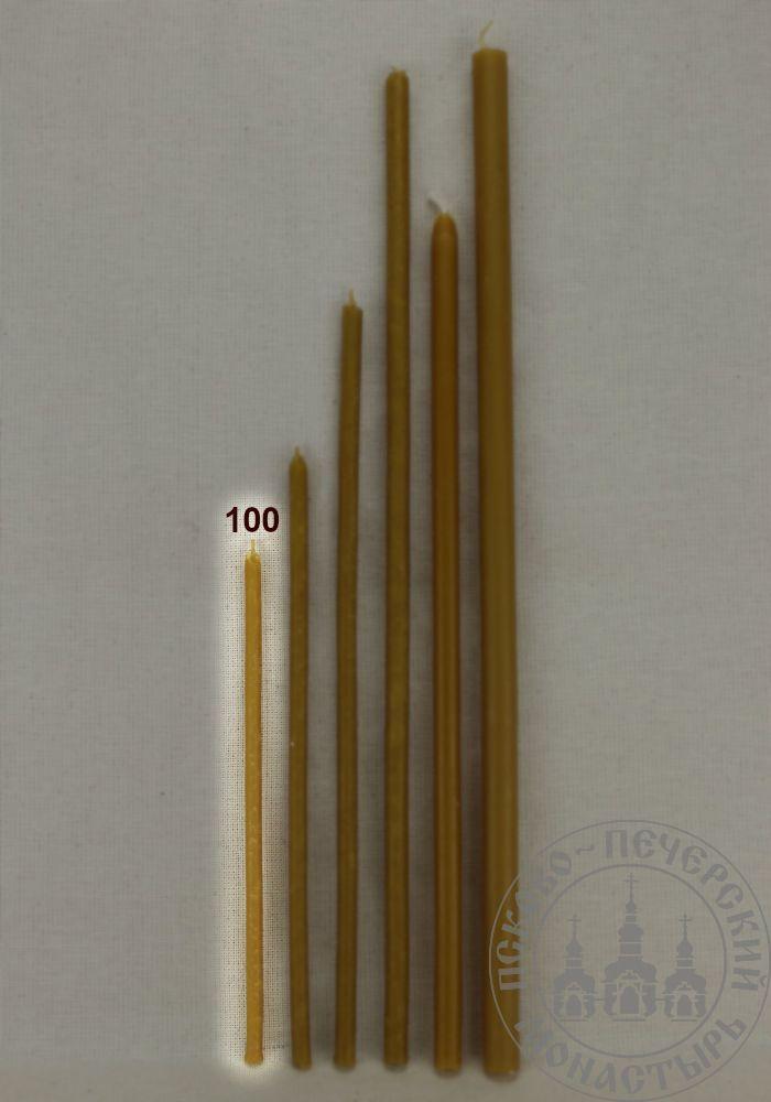 Свечи церковные восковые 100