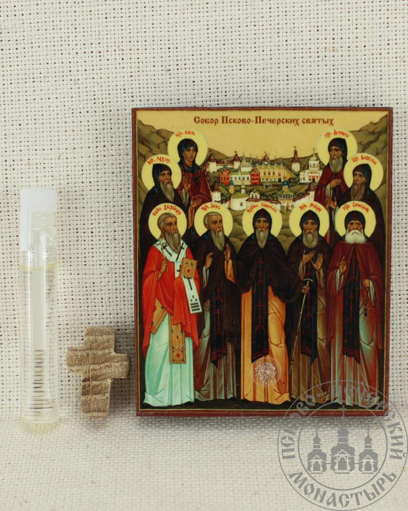 Собор Псково-Печерских святых. Набор со Святым маслом.
