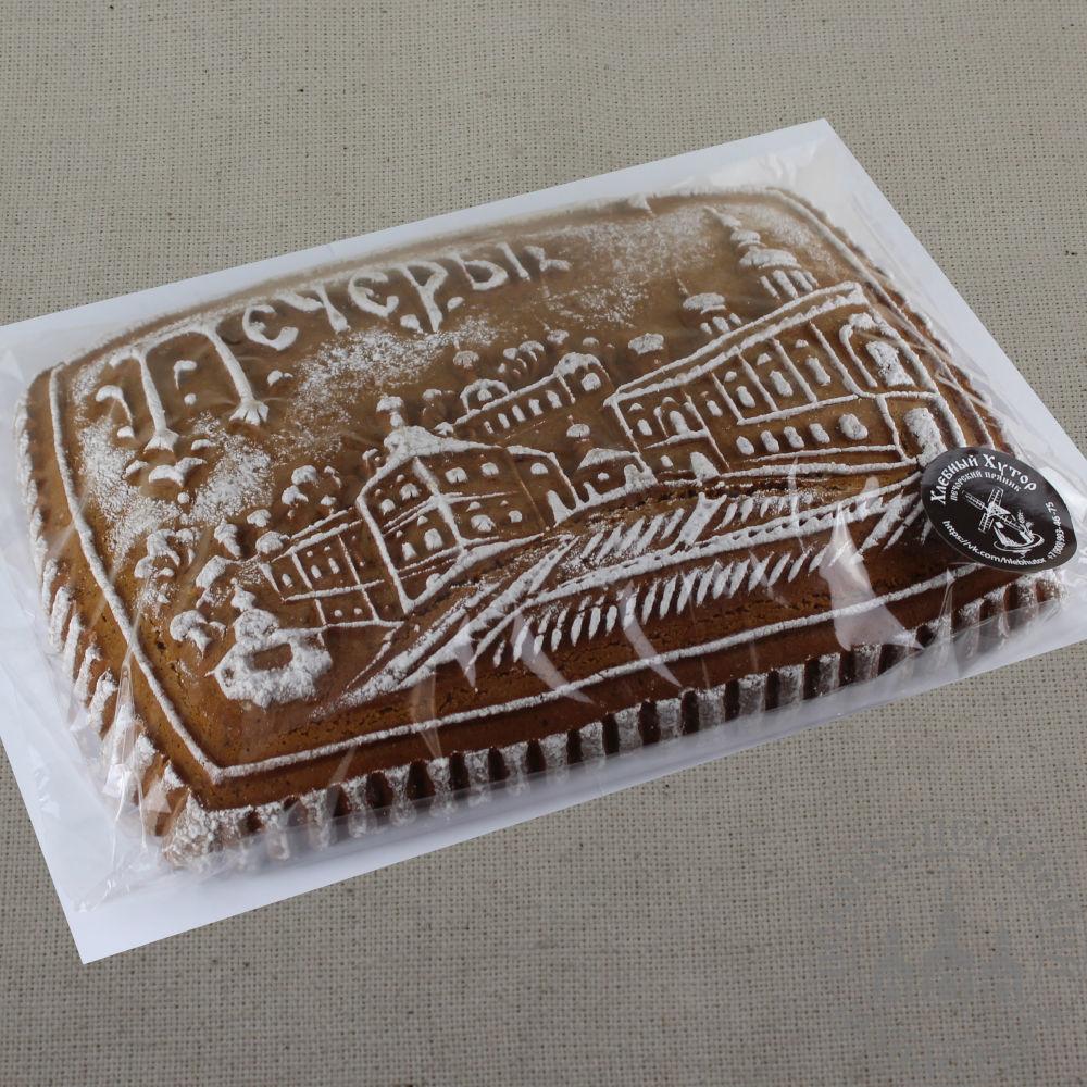 УСПЕНСКАЯ ПЛОЩАДЬ имбирный пряничный пирог с начинкой (повидло).