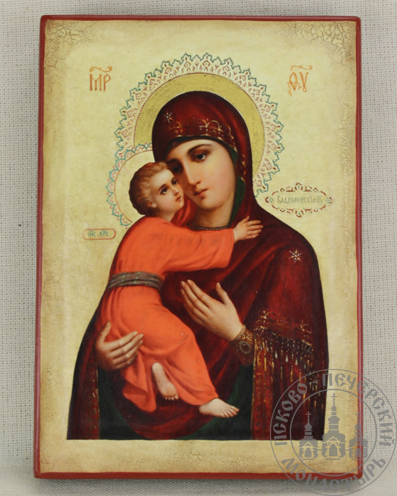 Владимирская  икона Божией Матери (из Сретенского храма)