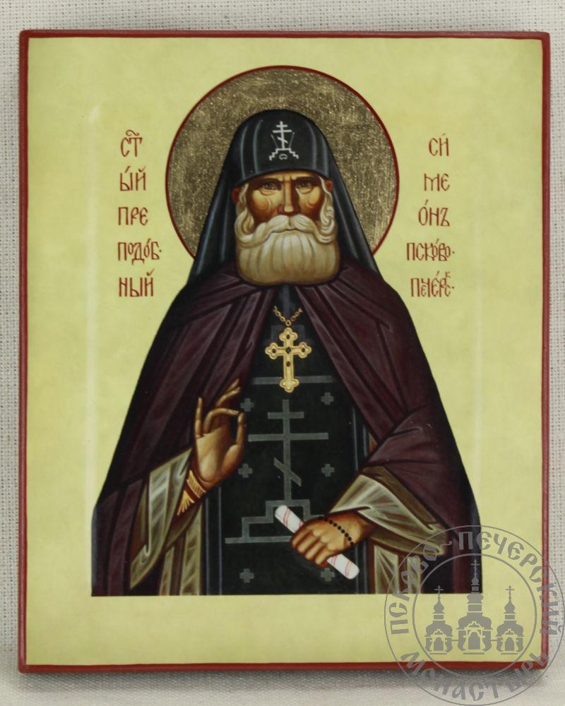 Симеон Псково-Печерский святой преподобный (из Михайловского собора)