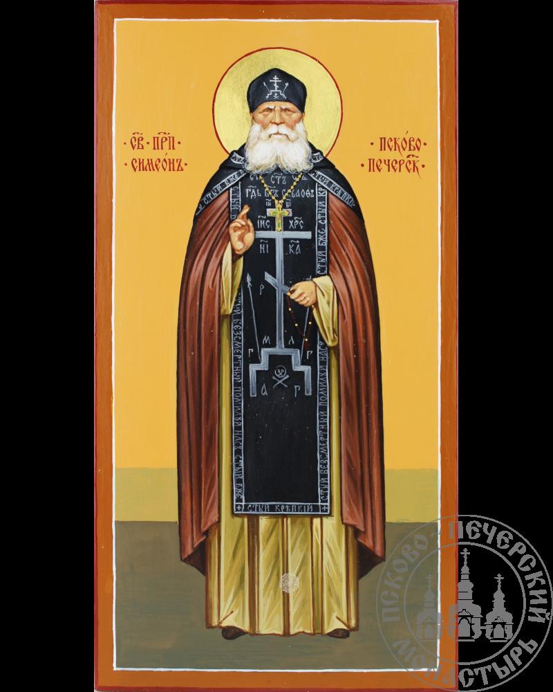 Симеон Псково-Печерский святой преподобный (ростовая)