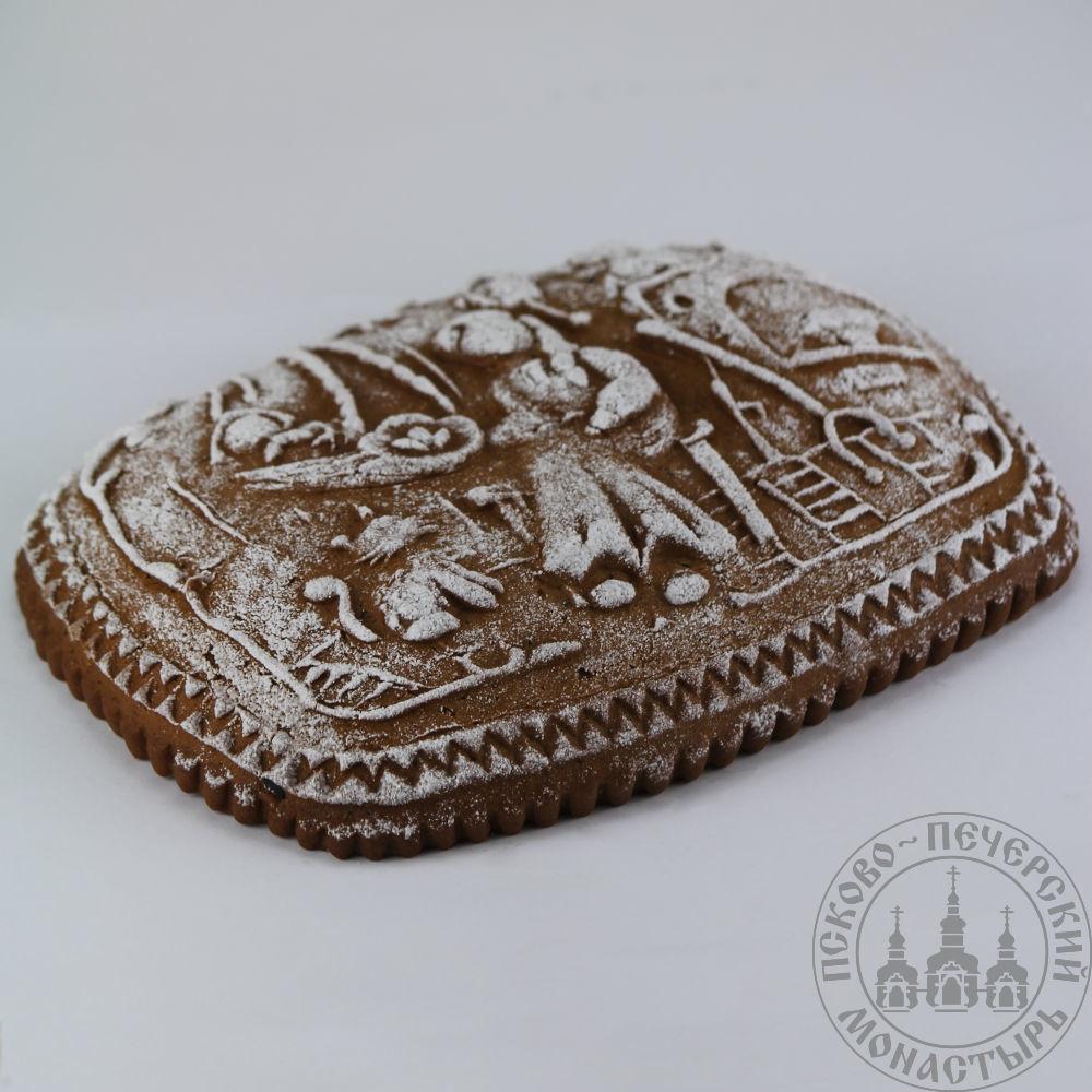 «Хорошо дома» имбирный пряничный пирог с начинкой (повидло), 360г.
