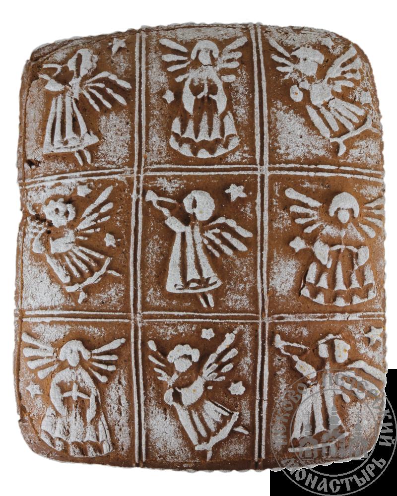 «Ангельский пирог» имбирный пряничный пирог с начинкой (повидло), 1000г.