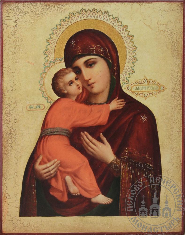 Владимирская икона Божией Матери (из Сретенского монастыря)