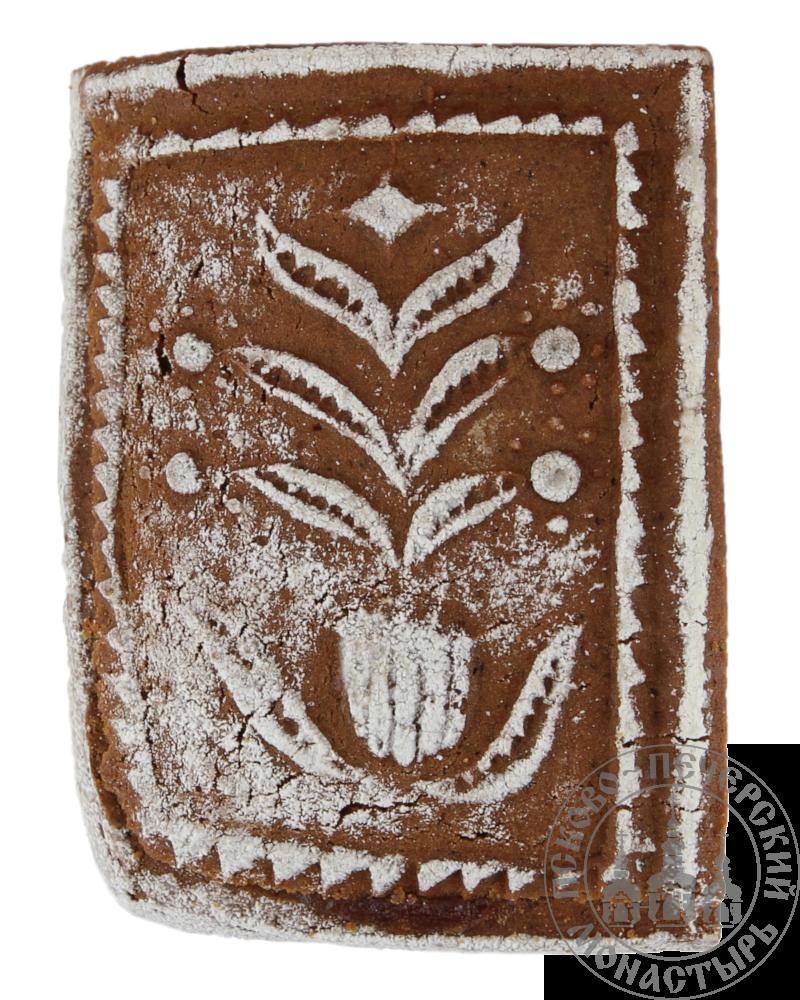 Кусочек от пирога «Разгоня» имбирный с начинкой (повидло), 160г.