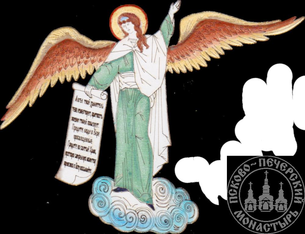 Магнит Ангел со свитком