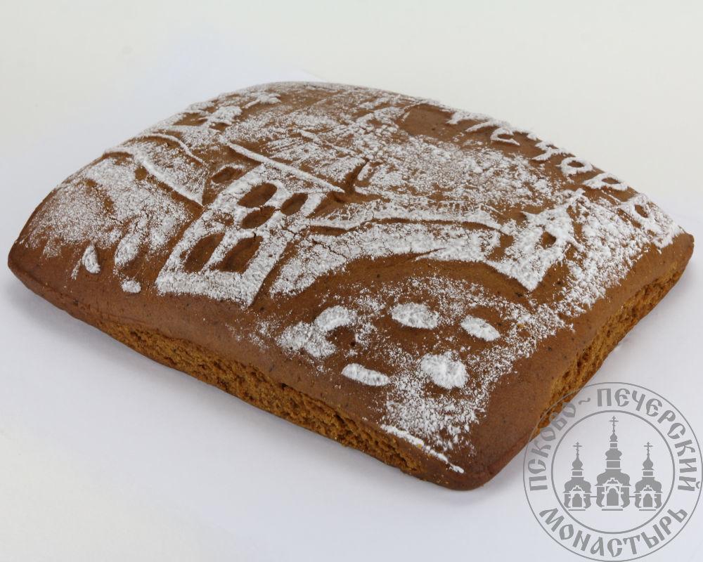 «Печоры» имбирный пряничный пирог с начинкой (повидло), 500г.