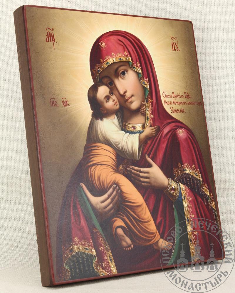 Умиление образ Пресвятой Богородицы Псково-Печерский из Успенского собора (барокко)