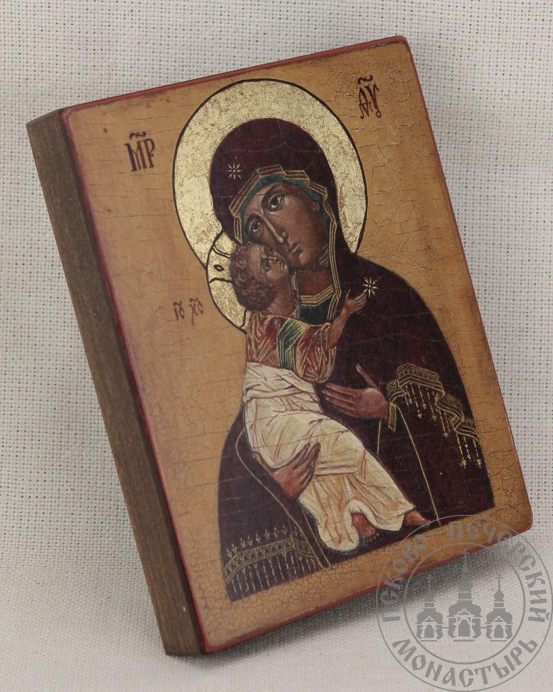 Умиление образ Пресвятой Богородицы Псково-Печерский из Михайловского собора (репродукция)