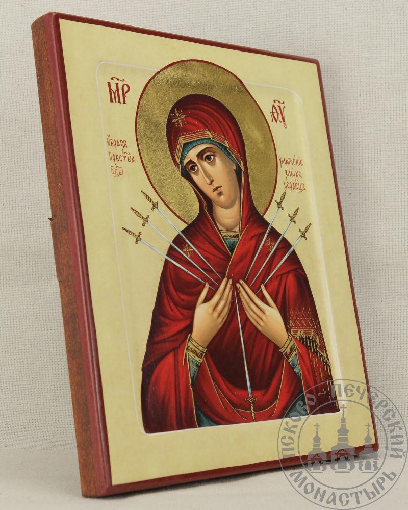 Умягчение злых сердец образ Пресвятой Богородицы