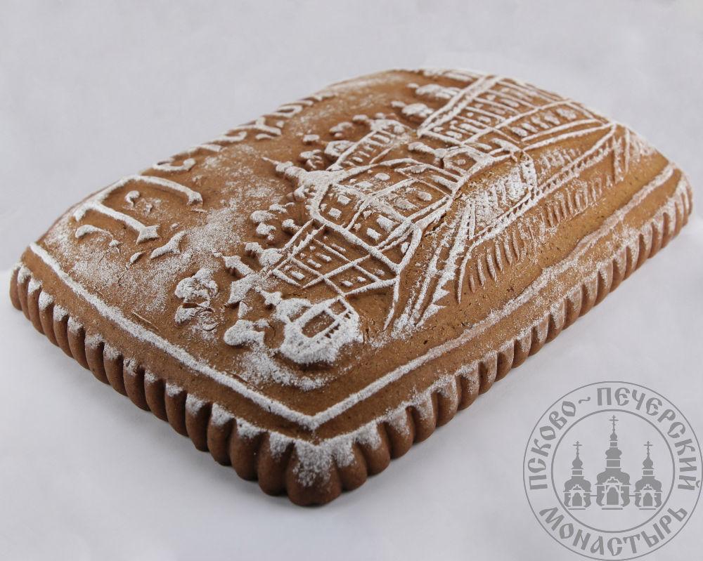 Успенская площадь имбирный пряничный пирог с начинкой (повидло), 800г.