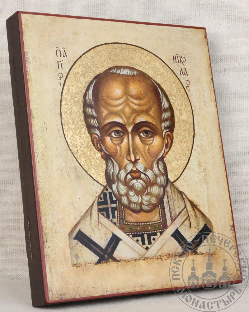Николай святой Мирликийский чудотворец (оплечный) [ИПП-1721]