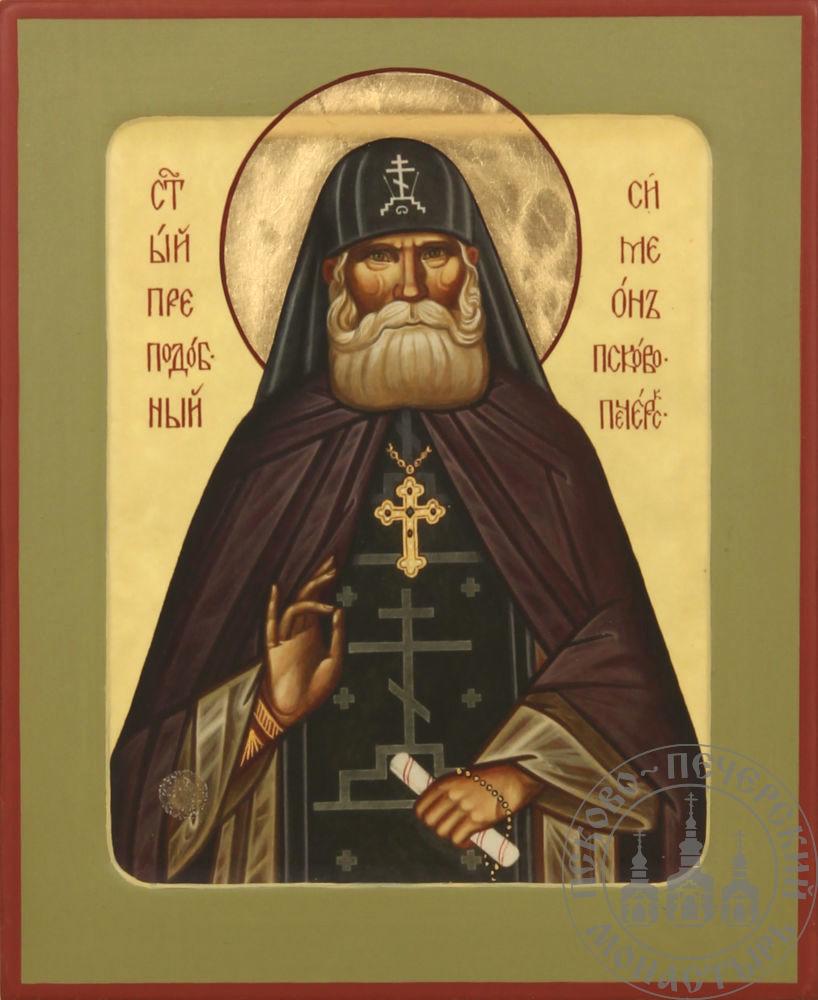 Симеон Псково-Печерский святой преподобный (из Михайловского собора) [ИСК]