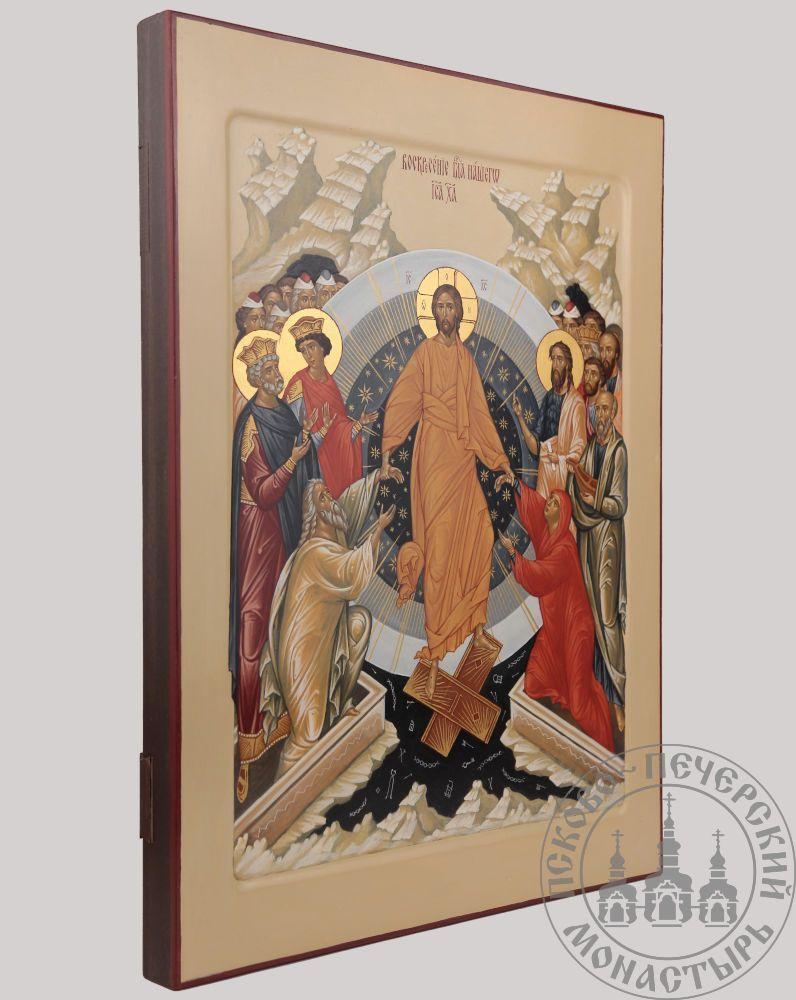 Воскресение Христово (сошествие во ад) [Рукописная]