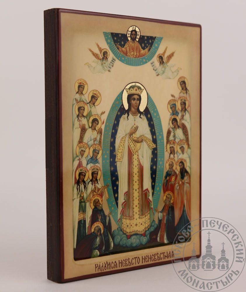 Радуйся Невесто Неневестная икона Божией Матери [ИКП-1217]
