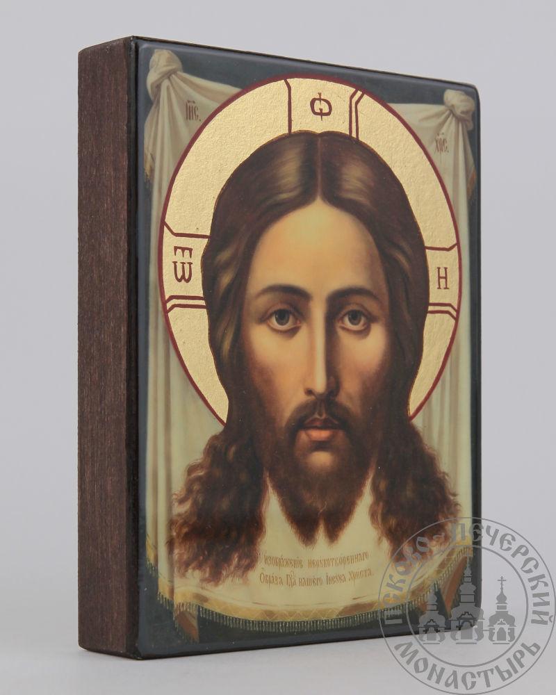 Спас Нерукотворный (Псково-Печерский) образ Господа Иисуса Христа [ИПП-911]
