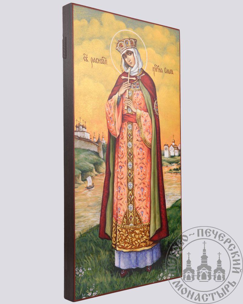 Ольга святая равноапостольная княгиня, с видом на Псков (список Нестерова) [ИПП-2140]