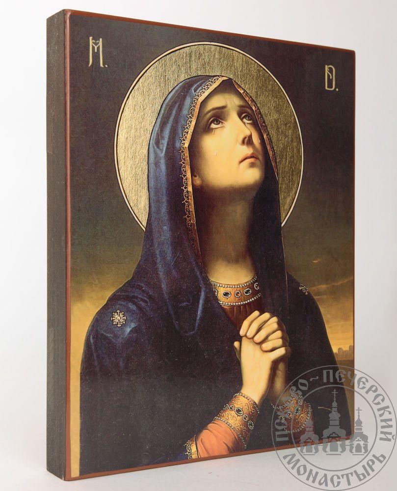 Скорбящая образ Пресвятой Богородицы (живопись) [ИПП-1721]