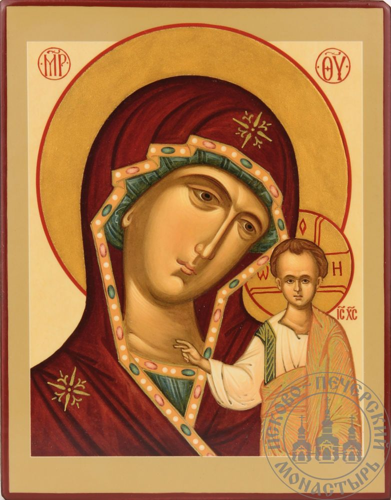 Казанская икона Божией Матери (классическая) [ИПП-1114]