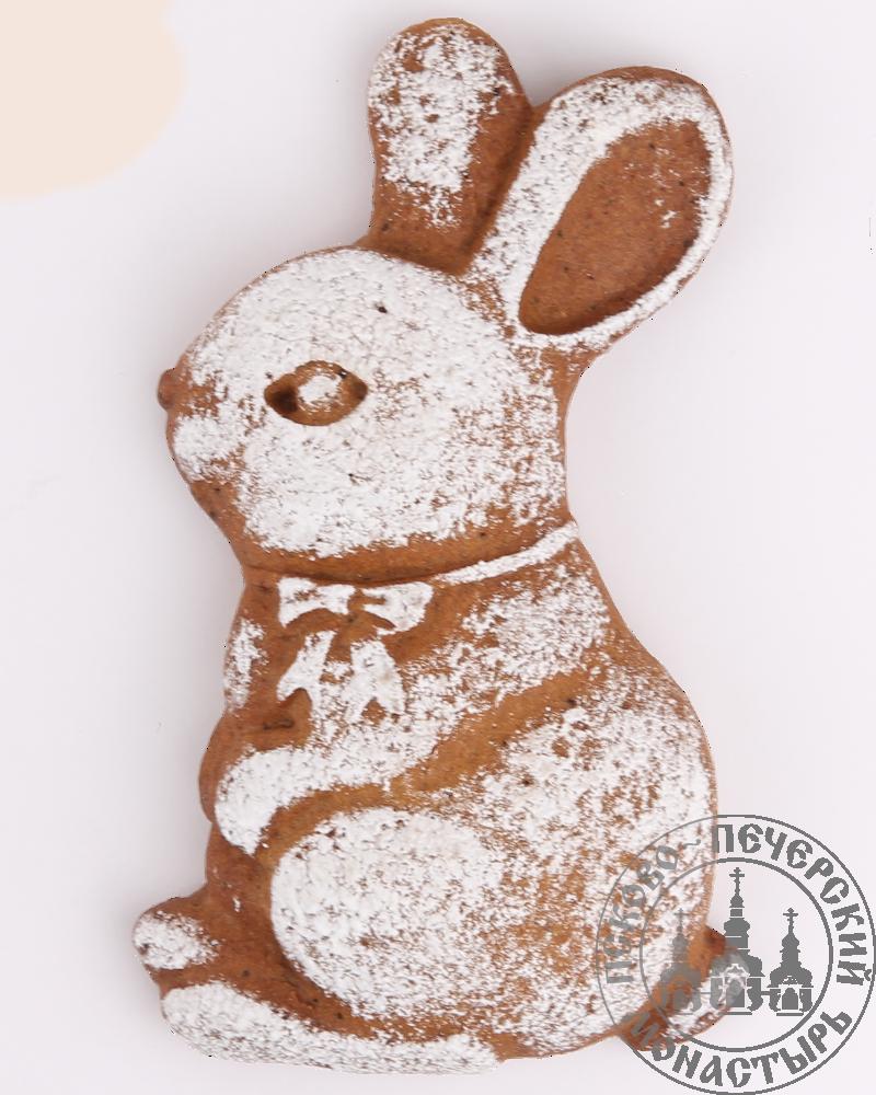 «Кролик» имбирно-солодовый пряник с начинкой. 100г.