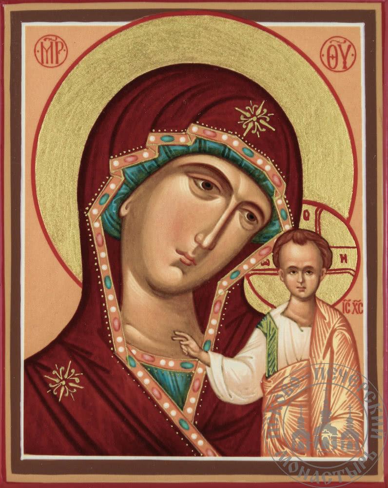 Казанская образ Пресвятой Богородицы (классическая) [ИМ]