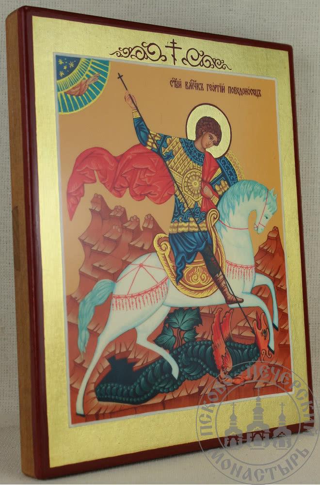 Георгий Победоносец святой великомученик. Чудо о змии [ИМАП(фон)]