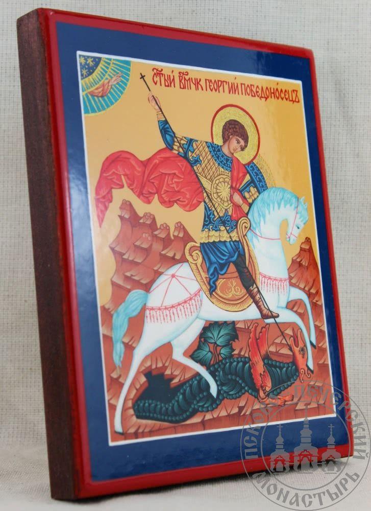 Георгий Победоносец святой великомученик. Чудо о змии [ИСП]