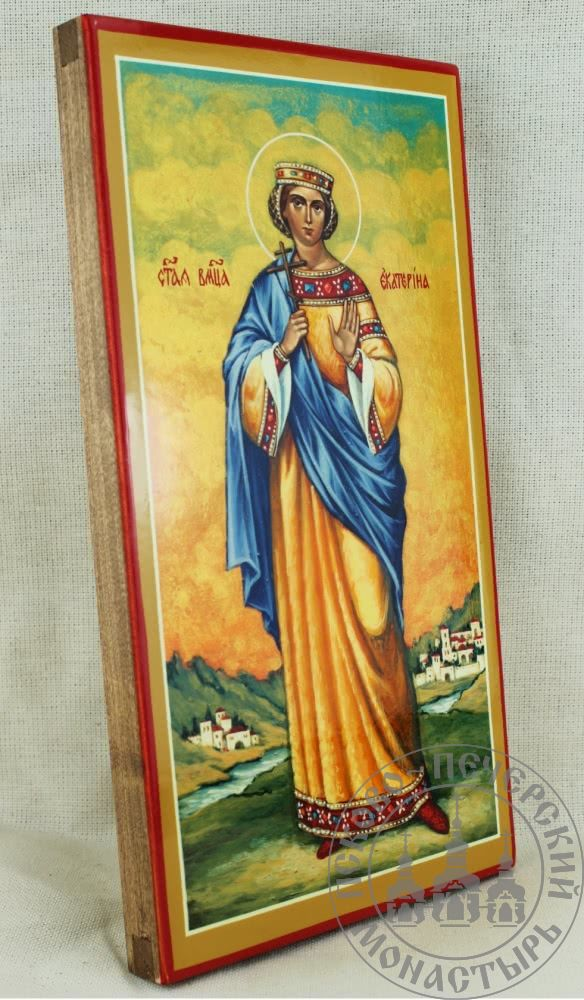 Екатерина святая великомученица (ростовая) [ИСПУ]