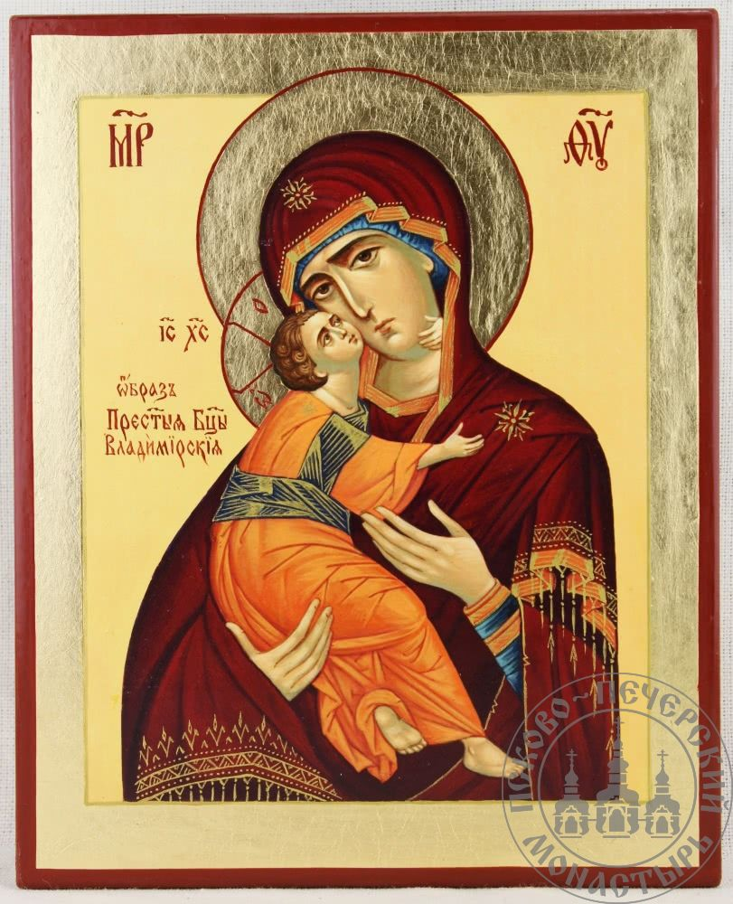 Владимирская Икона Божией Матери [ИМАП(фон)]