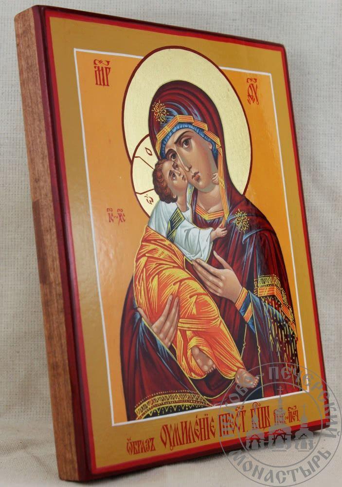 Умиление образ Пресвятой Богородицы Псково-Печерский [ИМАП(нимб)]
