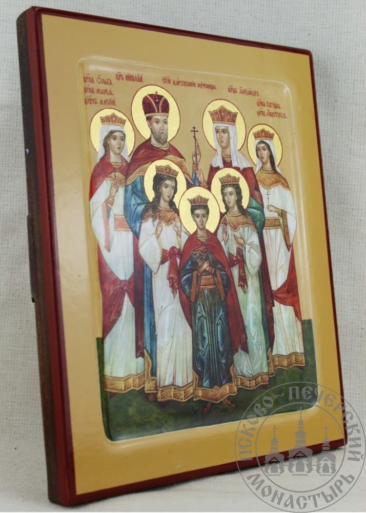 Царская семья, святые царственные страстотерпцы [ИМАК(нимб)]