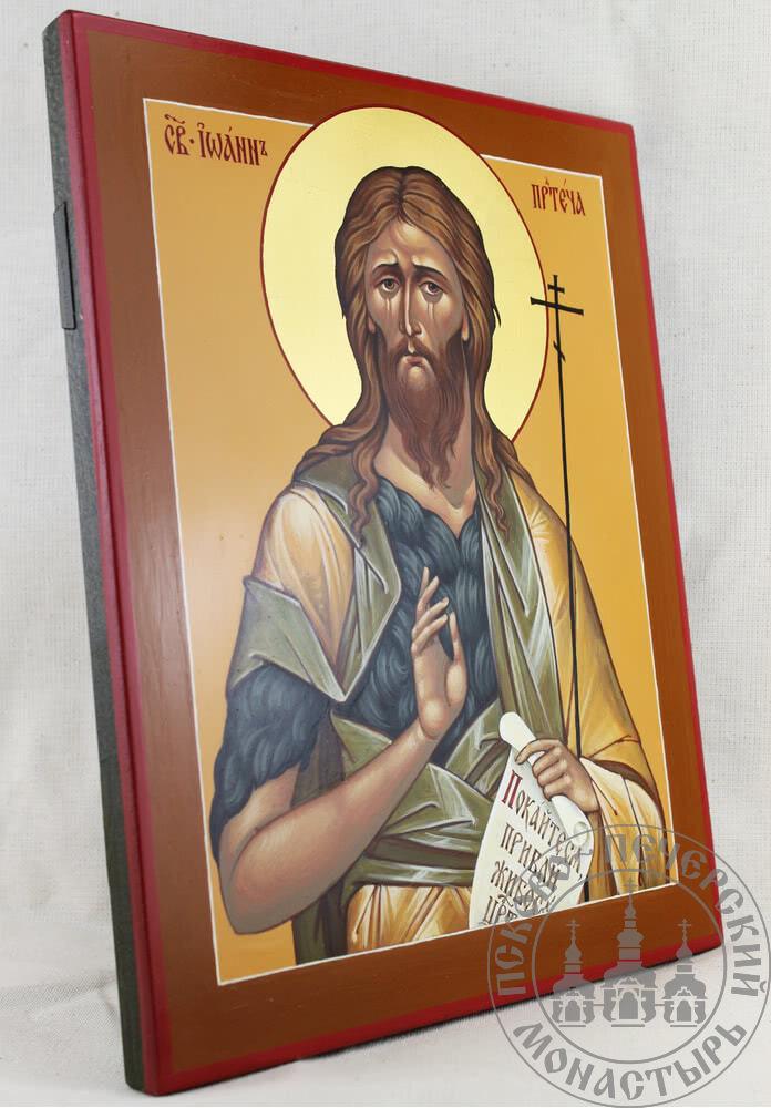 Иоанн Предтеча святой Пророк и Креститель [Писаная 22x28]
